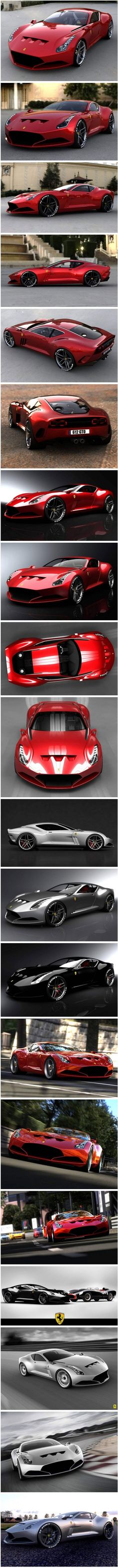 Ferrari 612 GTO Concept Car, which will hopefully become a reality one day soon.