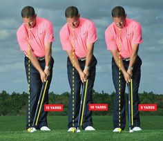 chipping made easy: Dont change your stroke, just adjust your setup.