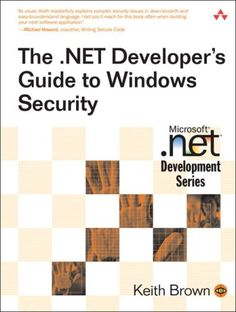 The .NET Developer's Guide to Windows Security by Keith Brown http://www.amazon.com/dp/0321228359/ref=cm_sw_r_pi_dp_DyBcvb0P8A3BA