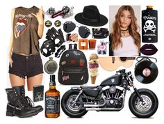 """""""#1086#"""" by letycalazans ❤ liked on Polyvore featuring Billabong, Aspinal of London, Zippo, Nest Fragrances, Ash, Givenchy, Ollie & B, Lack of Color, Harley-Davidson and Versace"""