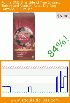 Purina ONE Smartblend True Instinct Turkey and Venison Adult Dry Dog Formula, 3.8-Pound (Misc.). Drop 84%! Current price $6.88, the previous price was $42.03. https://www.adquisitio-usa.com/purina/one-smartblend-true-0