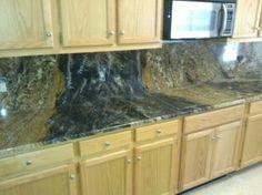 Granite Backsplash #Granite #GraniteBackSplash #NashvilleGranite