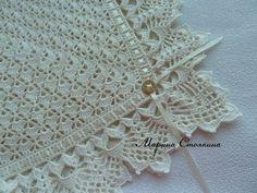 Diy Crafts - Best Ideas For Baby Crochet Scarf Girls Crochet Blanket Edging, Crochet Lace Edging, Crochet Shawl, Crochet Stitches, Crochet Patterns, Crochet Baby Clothes, Crochet Girls, Diy Crochet, Baby Knitting