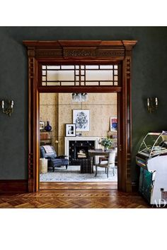 Jessica Chastain Apartment Architectural Digest | See inside Jessica Chastain's New York City apartment. Its rich history and recent redesign make it a true Victorian gem. #refinery29 http://www.refinery29.com/2016/09/122359/jessica-chastain-apartment-architectural-digest