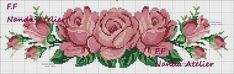 This Pin was discovered by Gyö Cross Stitch Rose, Cross Stitch Borders, Modern Cross Stitch, Cross Stitch Flowers, Funny Cross Stitch Patterns, Cross Stitch Designs, Embroidery Kits, Cross Stitch Embroidery, Cross Stitch Landscape
