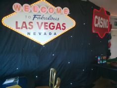 Las Vegas Sign. Made for themed events