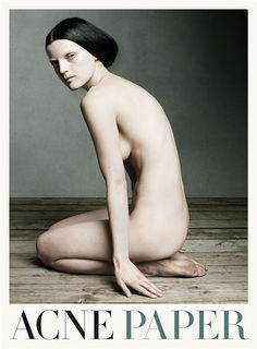 - inspiration for SexyMuse.com - Guinevere van Seenus by Daniel Jackson in Acne Paper