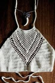 Resultado de imagen para tops cortos a crochet