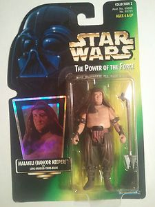 """Star Wars Malakili {Rancor Keeper} The Power of the Force 3 3/4"""" Action Figure---    http://www.amazon.com/gp/product/B004BUVN0G?ie=UTF8=A1JZHG9III7SDE=GANDALF%20THE%20GRAYZZ%20BOOKSTORE   ---"""