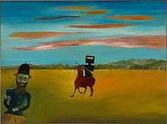 Sidney Nolan Ned Kelly Series - The encounter 1946 Australian Painting, Australian Artists, Sidney Nolan, Victoria Art, Ned Kelly, The Encounter, Out Of Touch, New Adventures, Art History