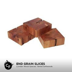 End Grain Slices by ChicagoFabrications