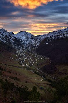 Hecho Valley, Huesca, Spain.