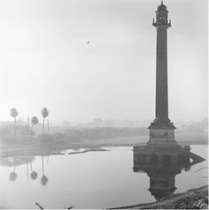 Photo by Derry Moore, Column At La Martiniere, Lucknow, India.