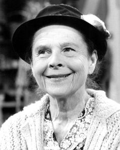 Ruth Gordon. Or, as I like to think of her...Maude.