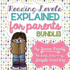 It's all about READING COMMUNICATION FROM SCHOOL TO HOME! This product was created to help educators communicate important information about reading levels to parents. It is very important that parents are working with educators in a similar fashion at home when reading. We want parents to reinforce the skills and strategies used during small group reading instruction at home.