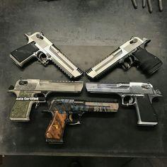 #deserteaglepistol #handgun Airsoft Guns, Weapons Guns, Guns And Ammo, Indoor Shooting Range, Weapon Of Mass Destruction, Mens Toys, Hunting Guns, Tactical Knives, Firearms