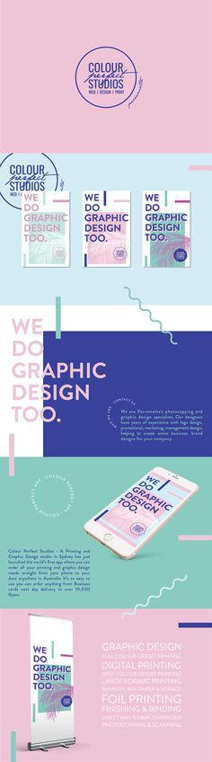 We Do Graphic Design Too. on Behance