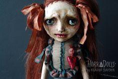 art doll LENA HorkaDolls