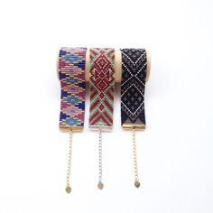 Ethnic series #beadloom#handmadebracelet#localbrand#delica#madeinindonesia#tenun#etnik#weaving#gelang#toscaberries#toscaproject