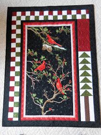 Christmas Tree Quilt, Christmas Quilt Patterns, Quilt Block Patterns, Christmas Quilting, Quilting Projects, Quilting Designs, Sewing Projects, Quilt Boarders, Wildlife Quilts