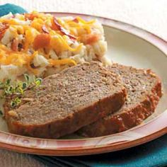 Meatloaf.  Never liked Meatloaf growing up until my Mom switched to this recipe!  If you like a sweeter kind, this is the best!  We use one whole bottle of chili sauce.
