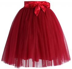 Chicwish TUTU sukně Amore, rudá