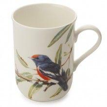 Maxwell & Williams Birds of Australia Eric Shepherd Mug 300ml Scarlet Robins