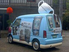 Starbucks Truck Taiwan