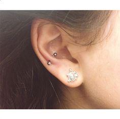 28 Atrevidos piercings en la oreja que tienes que probar