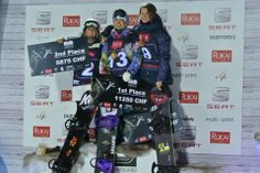 On the podium at World Cup Ruka Finland Olympians, Snowboarding, Finland, World Cup, Journey, Snow Board, World Cup Fixtures, Snowboards, The Journey