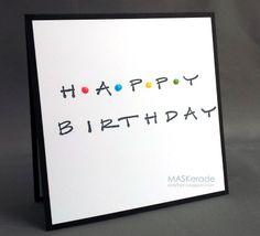 LIM159 - FRIENDS-inspired Birthday