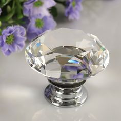 Regency hardware pulls knobs for kitchens and bathrooms  | Details about 8X 40mm Crystal Glass Door Knobs Drawer Kitchen Cabinet Etc...SOLD ON EBAY FOR APX $19.00 FOR 8 40mm CRYSTAL KNOBS. AN ECONOMICAL WAY TO GET YOUR BANG/BLING FOR YOUR BUCK,THIS KNOB IS PERFECT FOR YOUR ELEGANT ROOM OR ROOMS...'Cherie