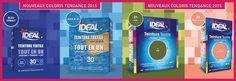 Ideal: Teintures pour vêtements et textiles, colorer un tissu - Ideal