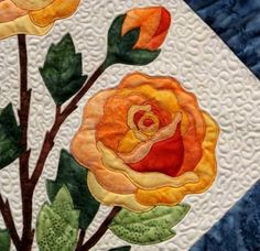 Applique Flower Pattern Quilt Rose | Over 5,000 Free Patterns