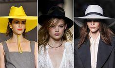 Spring/ Summer 2014 Headwear Trends: Wide-Brimmed Hats  #hats #headwear #trends
