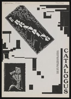 Exhibition catalogue entitled, 'De Branding' about an exhibition featuring Schwitters' work in Rotterdam in November-December 1922 | Tate