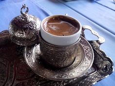 Have you tried the Middle Eastern coffee? Cardamom flavoured coffee is one of them. Travel Around The World, Around The Worlds, Have You Tried, Coffee Travel, Flavoured Coffee, Tea Cups, Istanbul Turkey, Tableware, Middle
