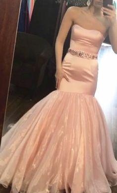 Tulle Prom Dress, Mermaid Prom Dresses, Strapless Dress Formal, Flower Girl Dresses, Dress Party, Party Dresses, Evening Party Gowns, Evening Dresses, Matric Dance Dresses