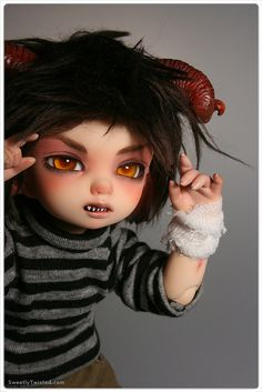 BOO! Marcus's Demon side (Littlefee Pipi) by Sweetly-Twisted, via Flickr