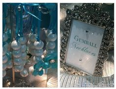 Hostess with the Mostess® - Tiffany Themed Wedding - Candy and Dessert Buffet