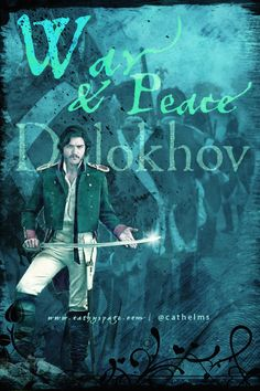 cathelms:  Tom Burke as Dolokhov in the up and coming War & Peace series on BBC. Graphic by me (cathelms)                                                                                SO EXCITED