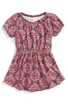 Peek 'Ruby' Short Sleeve Dress (Baby Girls) available at #Nordstrom
