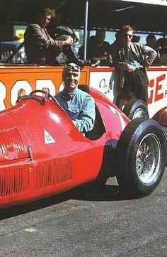 Giuseppe Farina, Alfa Romeo, Silverstone - Great Britain, 1950.