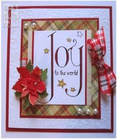 Image is Joy To The World from Squigglefly.  Card by Elizabeth Hart
