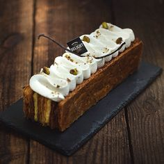 Just finished the Mille-feuille, I love this version! @maria_selyanina thank you for the information, it was very interesting. #Patisserie #Pastry #Food #Pastrylife #Pastrychef #Raleigh #Baking #Dessert