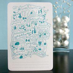 Christmas Card doodle
