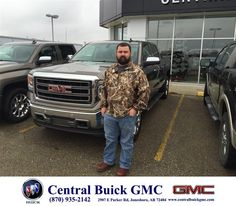 https://flic.kr/p/CcZdmF | Happy Anniversary to Jarrod on your #GMC #Sierra 1500 from Justin Duckert at Central Buick GMC! | deliverymaxx.com/DealerReviews.aspx?DealerCode=GHWO