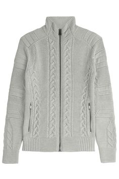 Zipped Wool Jacket  from RALPH LAUREN BLACK LABEL | Luxury fashion online | STYLEBOP.com