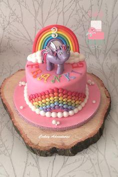 My little pony, rainbow cake x
