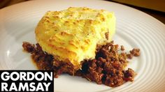 Gordon's take on a real British classic. The secret to this dish? It's all in flavouring the mince. From Gordon Ramsay's The F Word Subscribe for weekly cook...  Added comment by Chef Verdi: Shepherd's Pie is made using minced lamb, whereas Cottage Pie is made with minced beef.  Both are great with a little English mustard and a dash of Worcester Sauce.